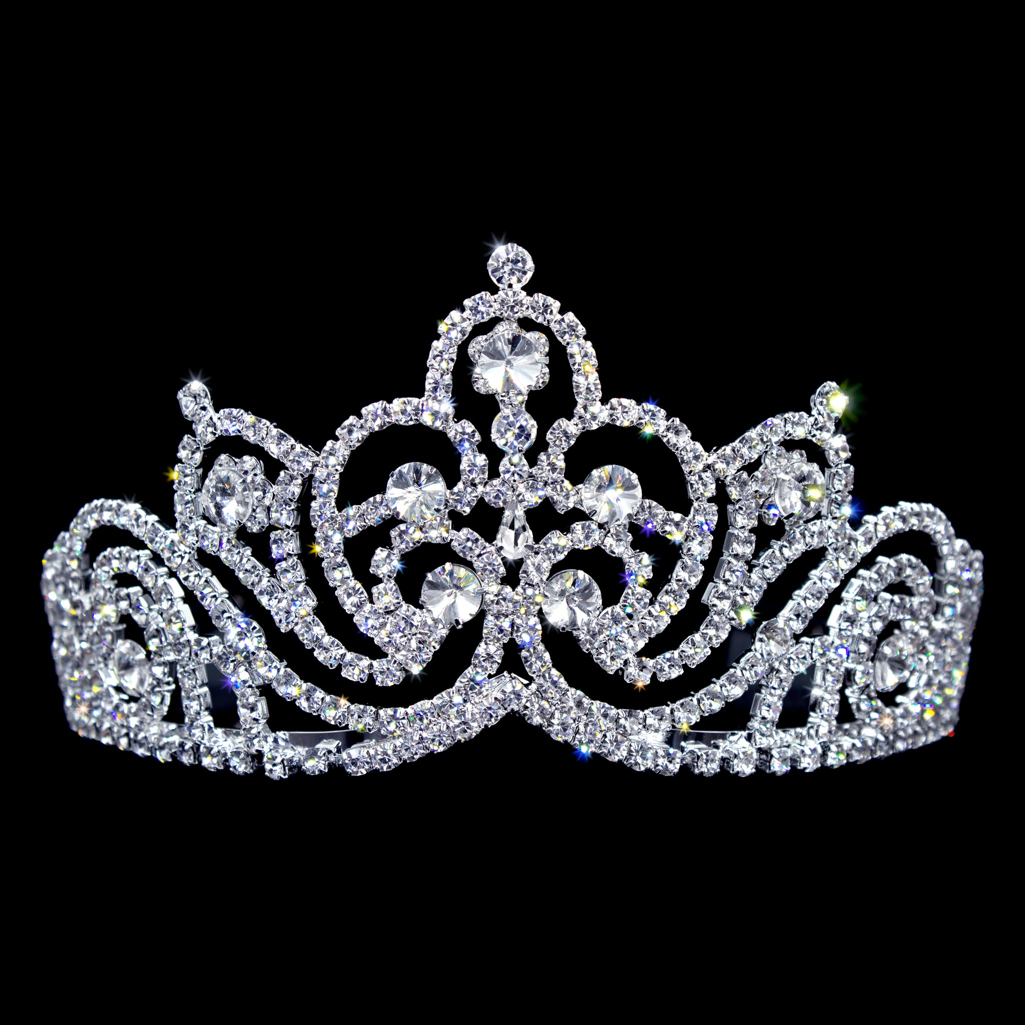 #13118 Full and Elegant Burst Tiara